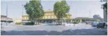 piazzale della stazione di Modena