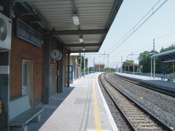 stazione di Borgo Panigale - binari