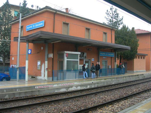 stazione di Pioppe di Salvaro_binari