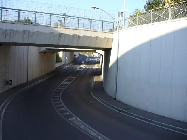 percorso ciclo-pedonale della nuova stazione