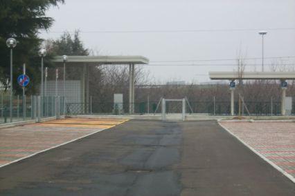 stazione di Pilastrino - parcheggio
