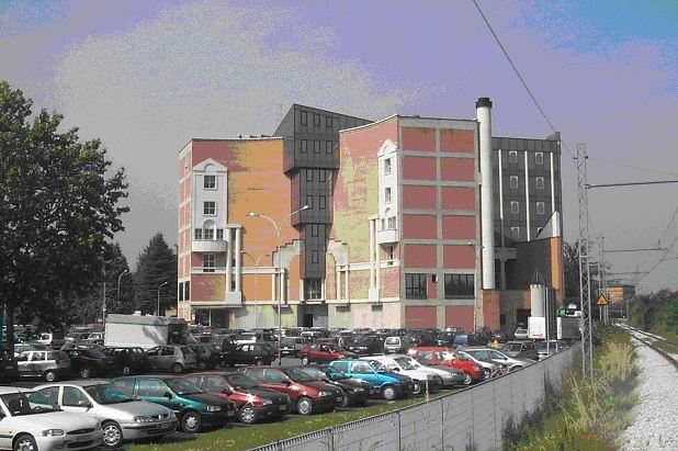 stazione di Zola Centro - parcheggio