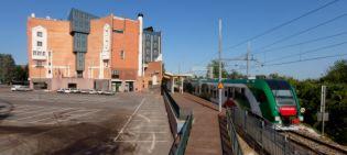 stazione di Zola Centro  - panoramica