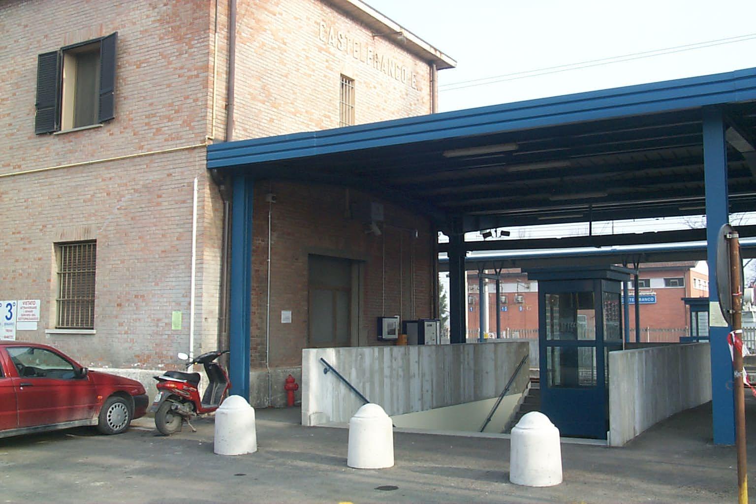 sottopasso stazione di Castelfranco E.