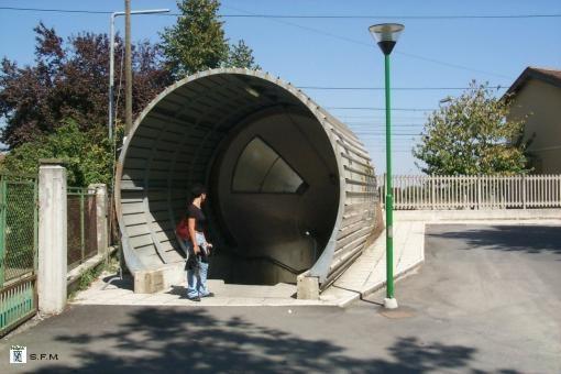 accesso sottopasso