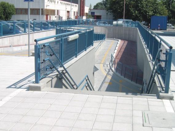 stazione di Borgo Panigale - sottopassaggio