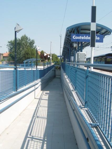 stazione di Casteldebole - rampe