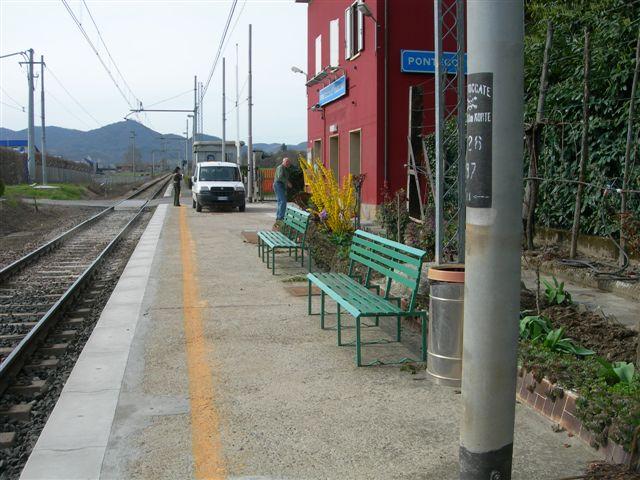 stazione di Pontecchio Marconi - binari