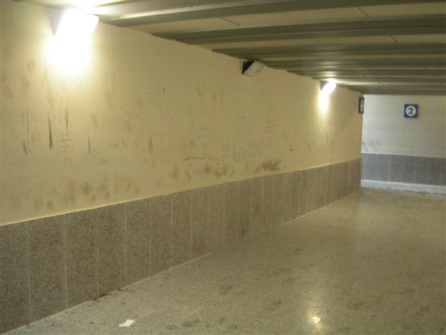 stazione di Marzabotto_ sottopassaggio