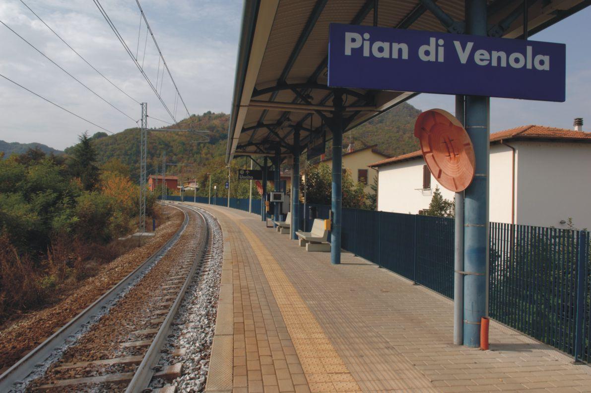 stazione di Pian di Venola - binari