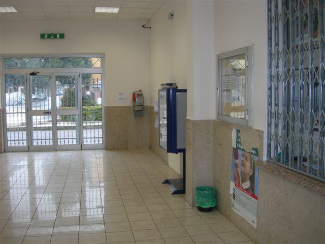 stazione di Vergato_sala d'attesa