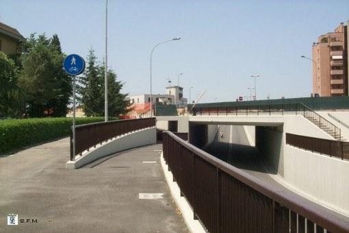 stazione di Ceretolo_ sottopasso