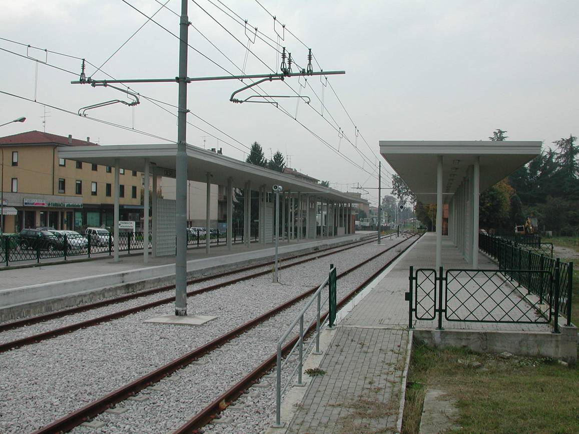 stazione di Crespellano - binari